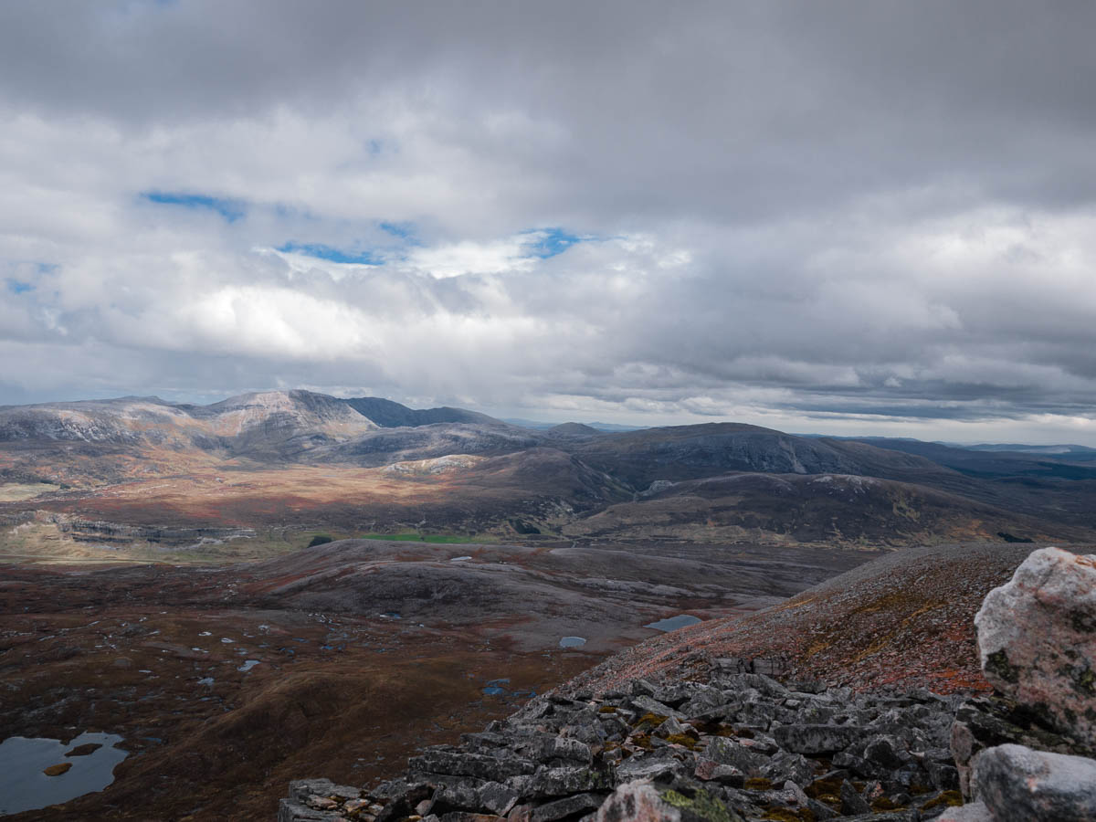 Eagle Rock and Ben More Assynt